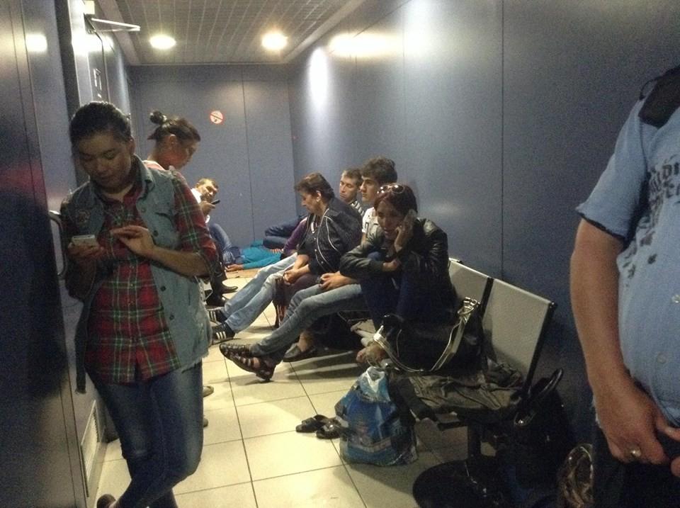 В России работники ФСБ приостановили российского активиста (ФОТО)