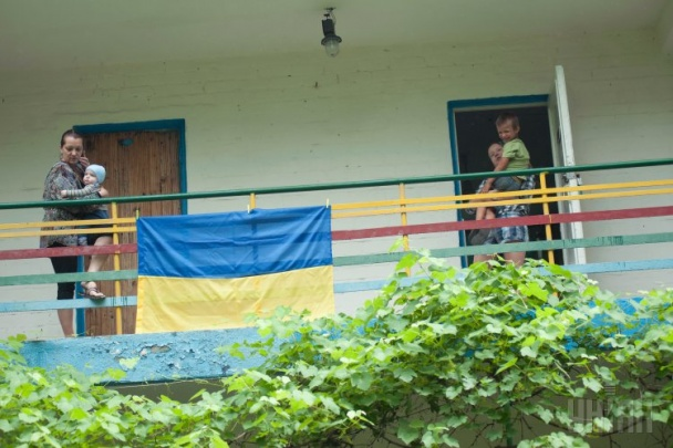 Как проживают дети-беженцы из Донецка. Фото