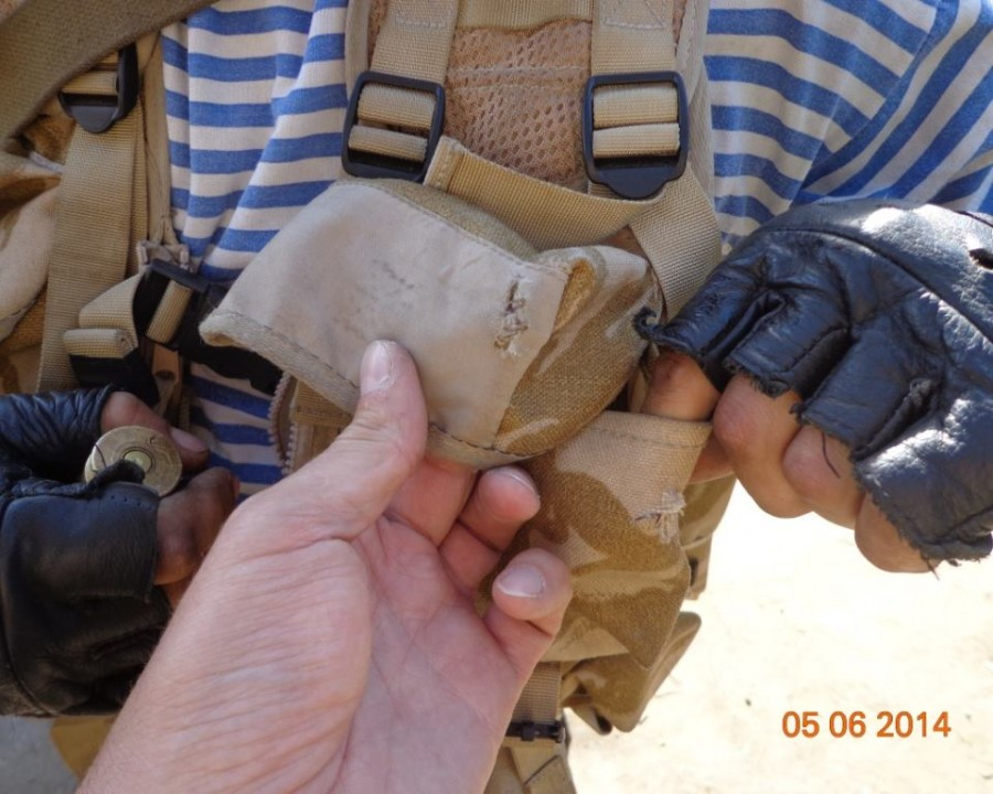 Боевики в Славянске вооружены противотанковыми ружьями. Фото
