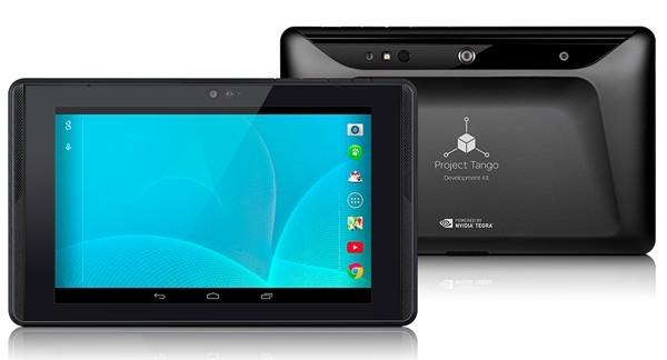 """7"""" планшетник с 3D-сенсором от Google"""