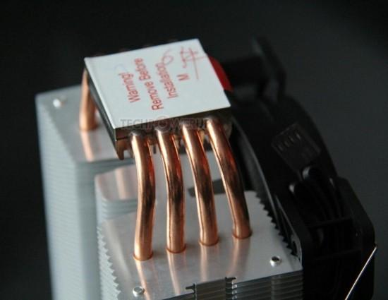 Экономный башенный микропроцессорный вентилятор Pure Rock