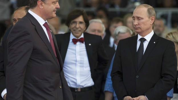 О чем рассказали пантомима и жесты лидеров в Нормандии? (ФОТО)