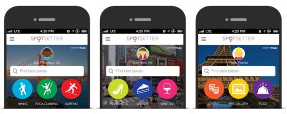 Эпл приобретает соцсервис Spotsetter