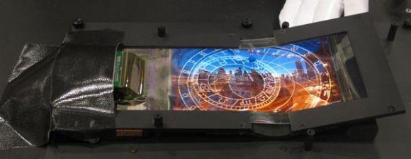 Эластичные OLED-дисплеи от Нокия и SEL