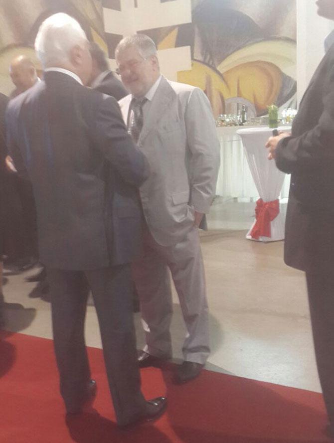 Коломойский говорил смешные рассказы на приеме у Порошенко. ФОТО