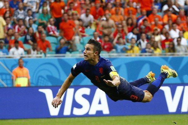ЧМ-2014: Сборная Нидерландов оскорбила чемпионов мира