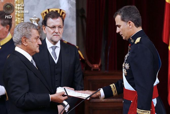 ФОТО: В Испании прошла коронование короля Фелипе VI