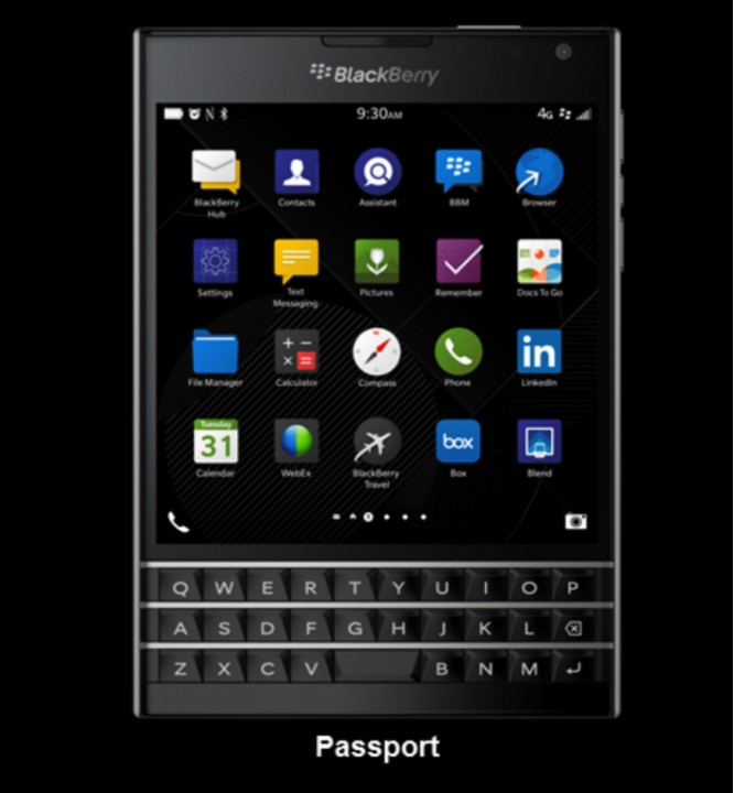 BlackBerry Classic/ Passport : квадратные телефоны