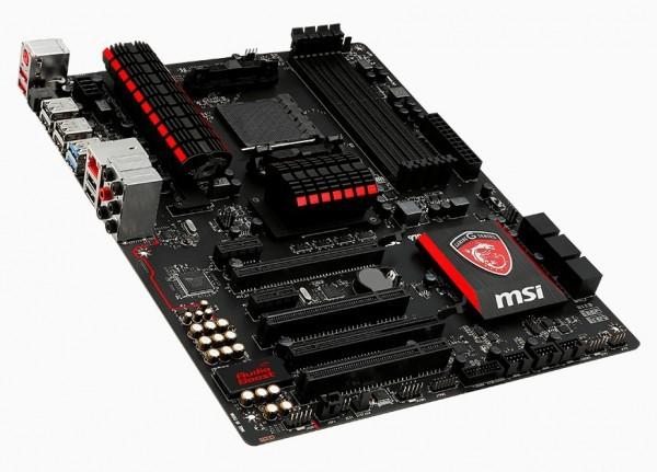 MSI продемонстрировала игровую материнку 970 GAMING