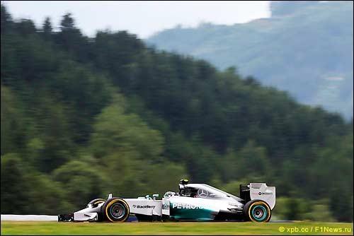 2-я часть свободных заездов Гран При Австрии