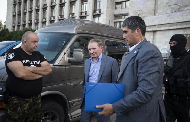 Кучма, Шуфрич и Медведчук повстречались с руководителями бандитов
