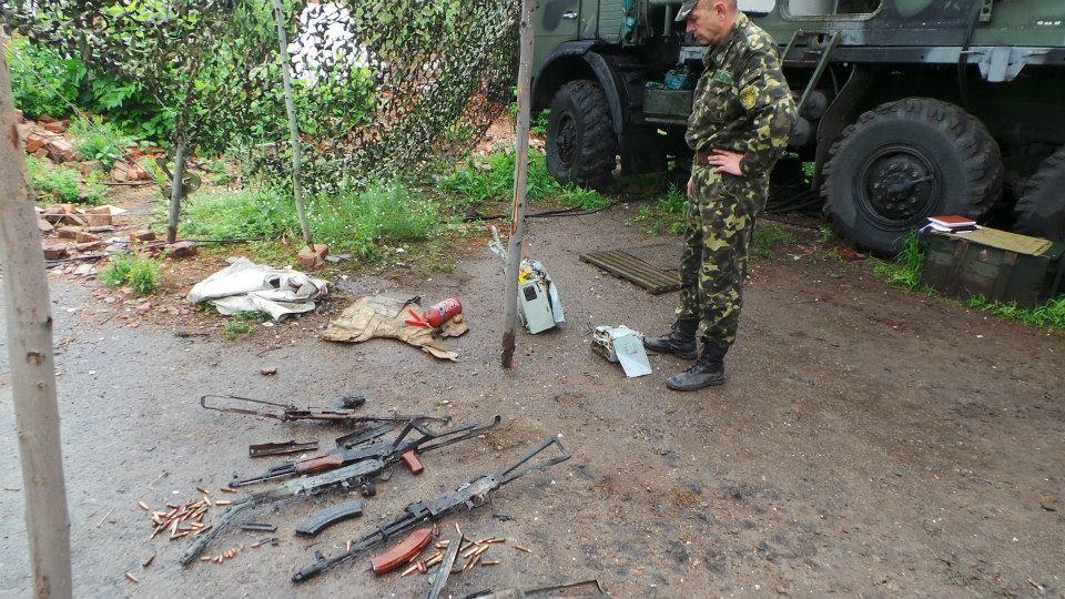 """ФОТО: Обнаружен """"темный ящик"""" сваленного под Украинском Ми-8"""