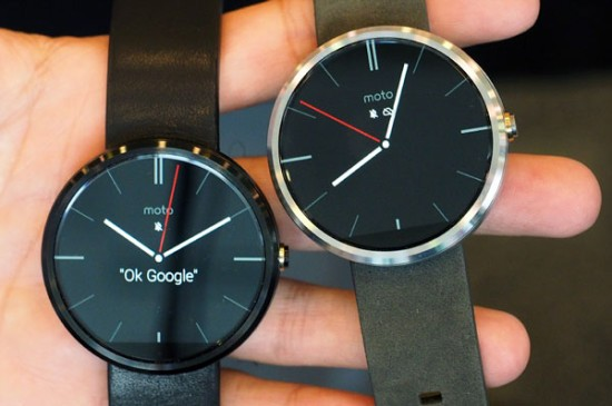 Moto 360: Смарт-часы на Андроид Wear показаны