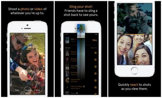 В Фейсбук был замечен Slingshot - пример обслуживания Snapchat