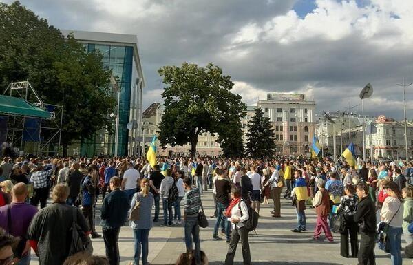 В Харькове требуют люстрации и отставки Кернеса (ФОТО)