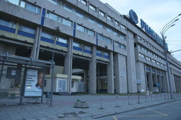 ФОТО: В городе Москва возникли неприличные баннеры с Порошенко