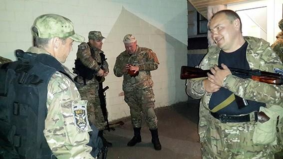 """Спецбатальон """"Киев-1"""" нацелен в зону Иначе"""