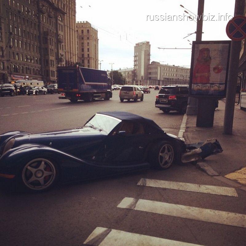 В городе Москва Гоша Куценко попал в ДТП (ФОТО)