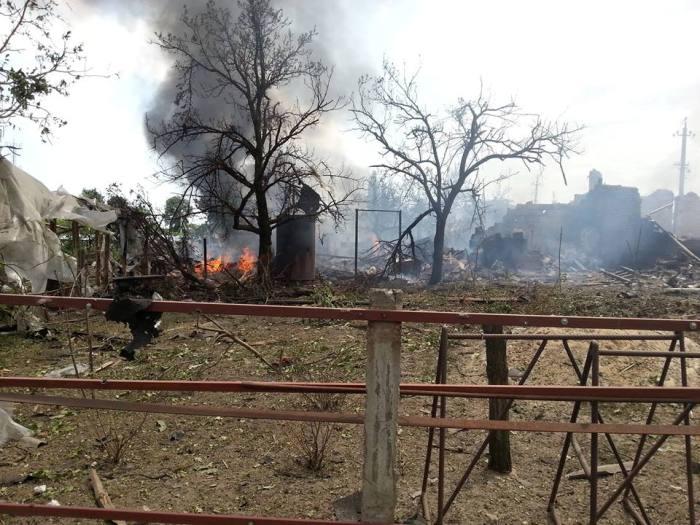 Катастрофа: Как сгорела вереница Луганская? (ФОТО, ВИДЕО)