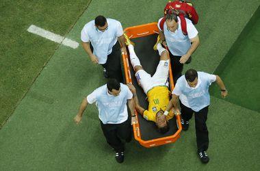 Неймар обрел трудную травму, ФИФА исследует причину (ВИДЕО)