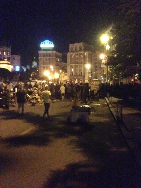 Вечерняя стрельба на Майдане: есть жертвы