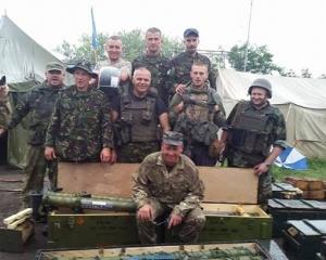 В Славянске обнаружен склад боевиков с отечественным ружьем