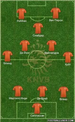 ЧМ 2014: Голландия - Аргентина 0:0, по пенальти - 2:4