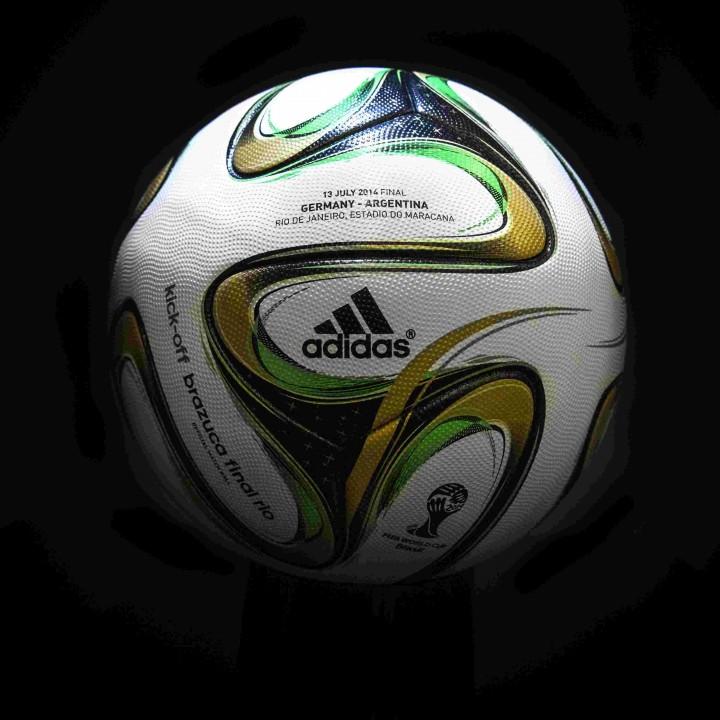 ФОТО: Мячик на последний поединок ЧМ 2014 представлен