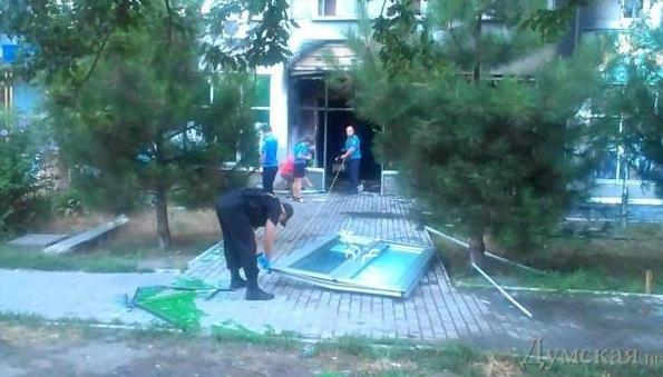 В Одессе подорвали 2 отдела банка Коломойского