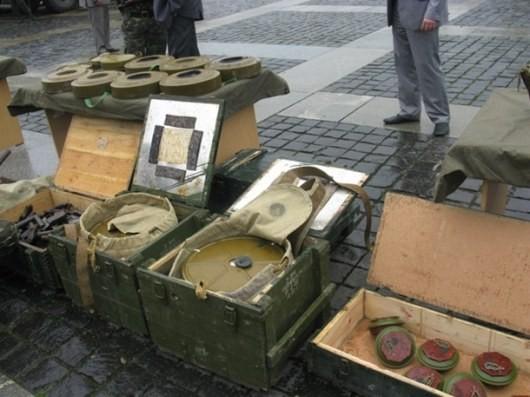 ФОТО: Факты скрещения границы боевой техникой из РФ