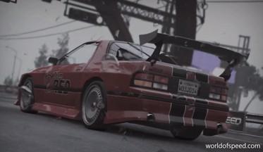 ВИДЕО: Мазда RX-7 vs Мерседес Бенц 190E в World of Спид