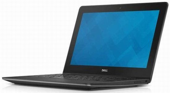 На раскладе свежий компьютер Dell Chromebook 11