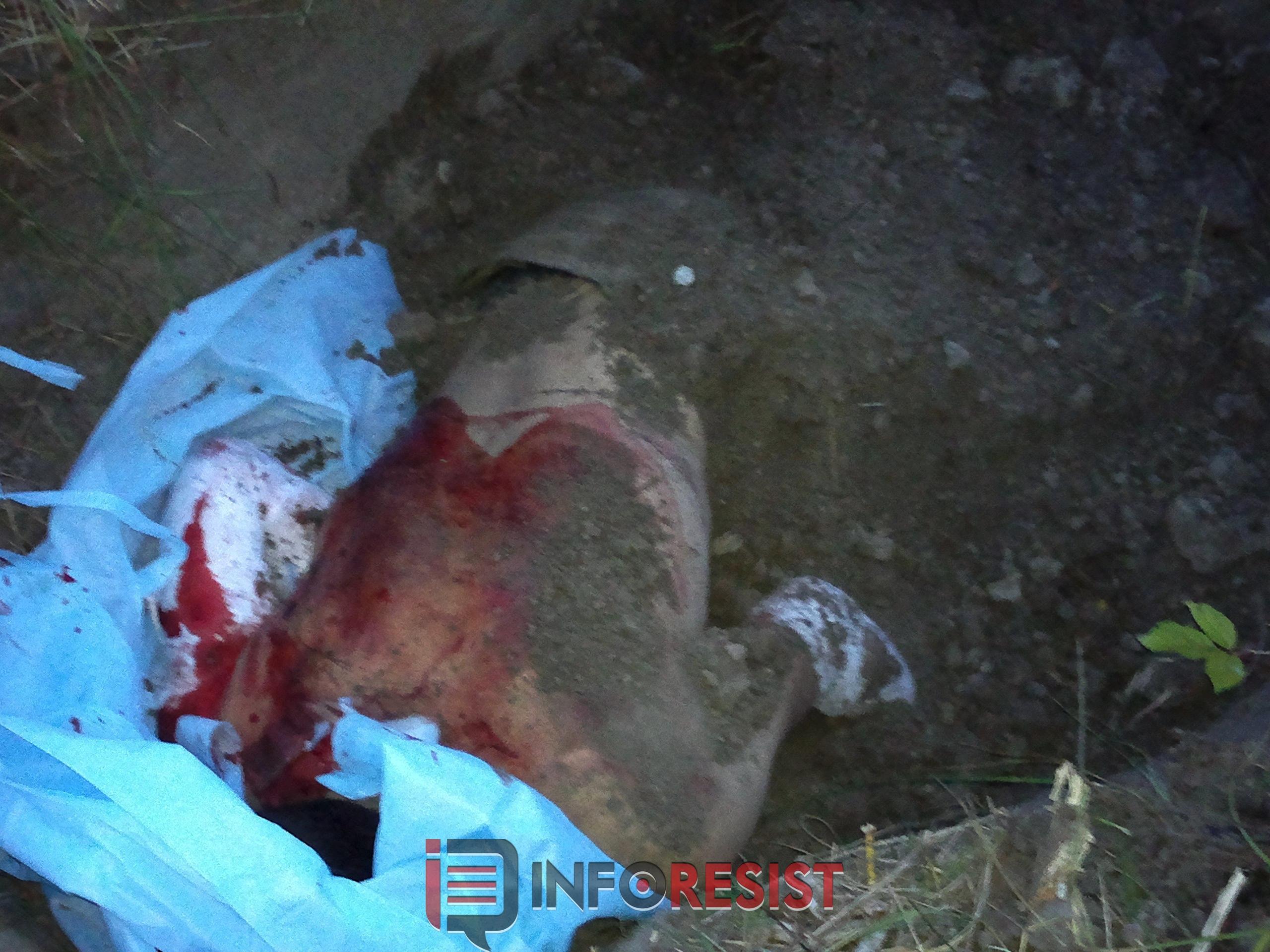 Обнаружен погост изведенных боевиками граждан Славянска