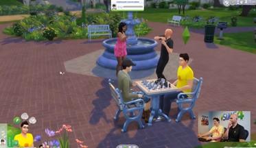 ВИДЕО: российский геймплей The Sims 4