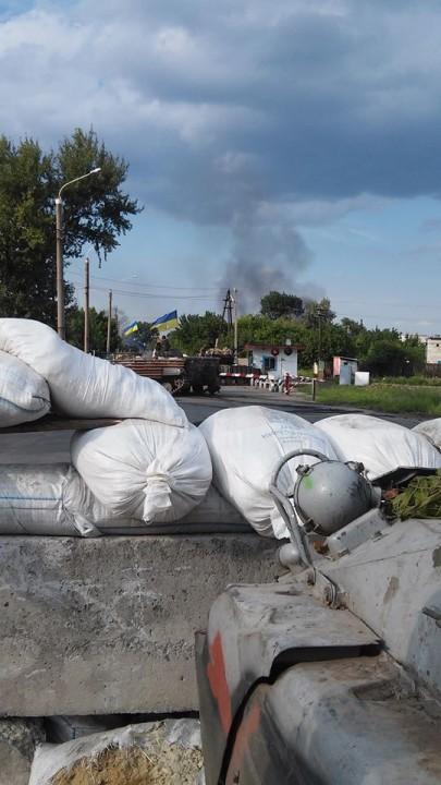 За Лисичанск проходит жестокий поединок (ФОТО)