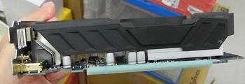 Низкопрофильная форсированная видео графика Gigabyte GF GTX750