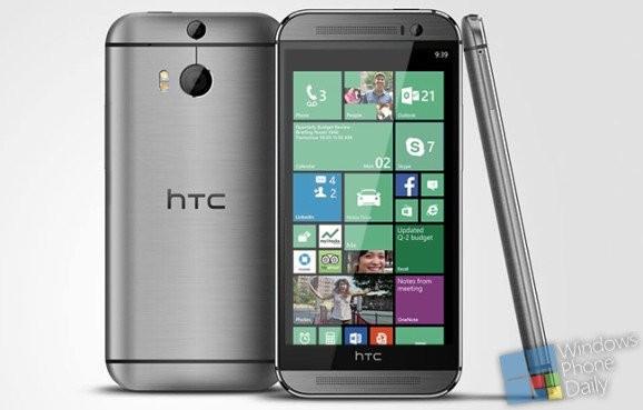 HTC One (М8) будет на Виндоус Phone
