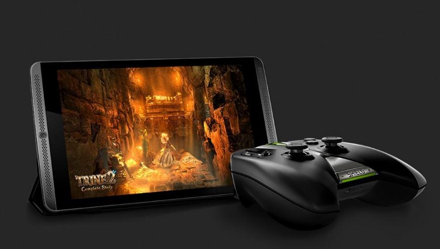 Начались реализации игрового планшетника Nvidiа Shield