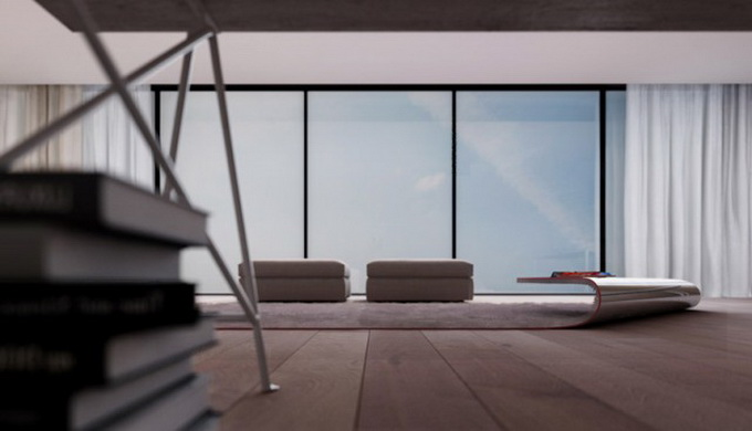 ФОТО: Эксклюзивный ковер-стол от Алессандро Изолы