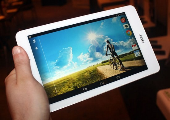 Acer Iconia Tab 8 A1-840 и Tab 8 A1-841: экономные новинки