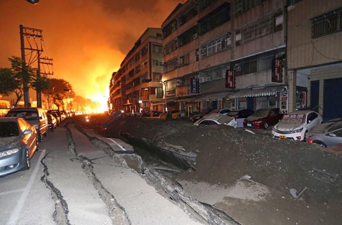 Взрывы на Тайване: Были убиты 24 человека, 271 изранены