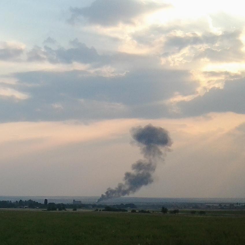 Бандиты сшибли славянский истребитель под Енакиево (ФОТО)