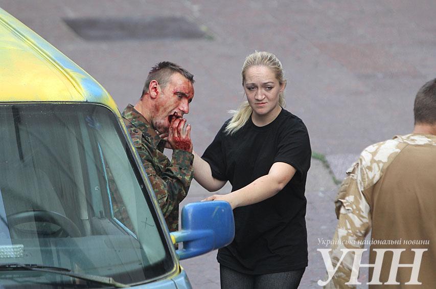 В центре Киева произошел взрыв, есть потерпевшие (ФОТО)
