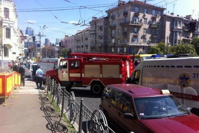 В МВД сообщили о взрыве около Российского дома (ВИДЕО)