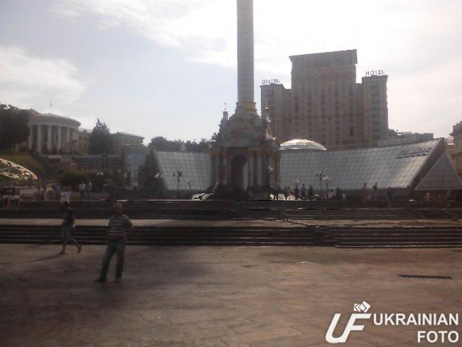 Кличко гарантировал 11 сентября восстановить перемещение по Крещатику