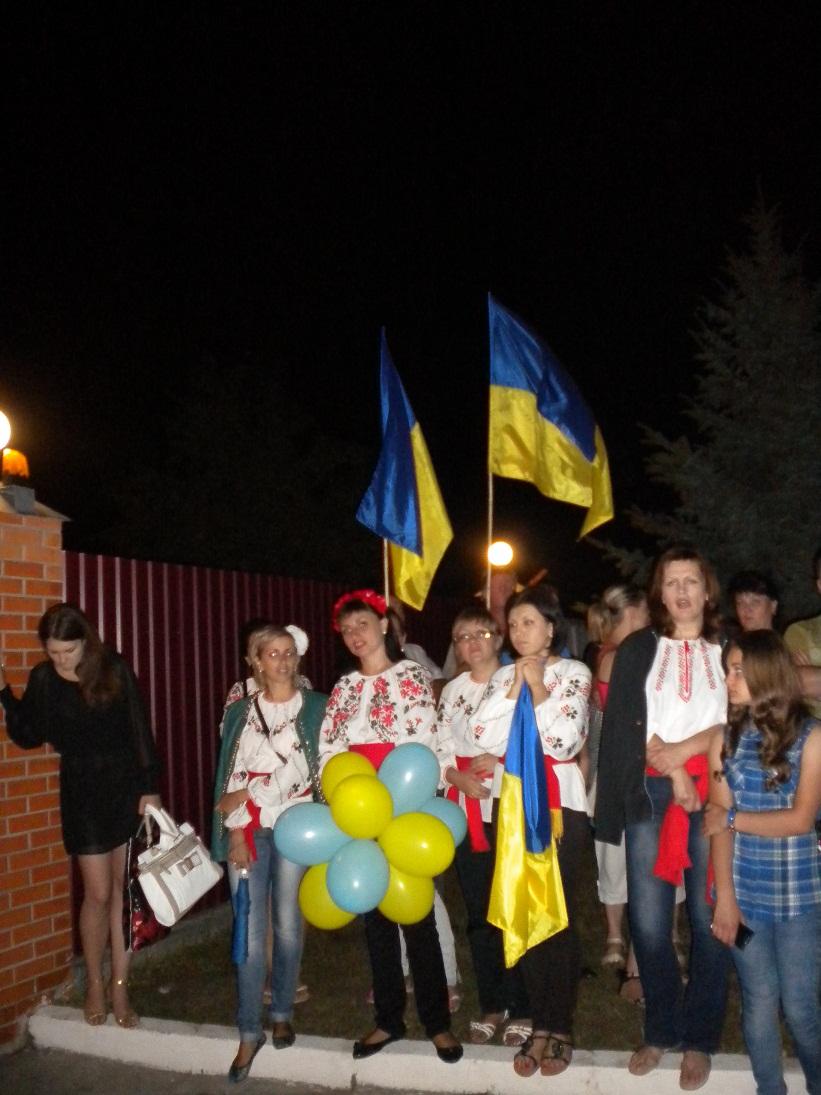 170 пограничников пришли из зоны Иначе в Черкассы (ФОТО)
