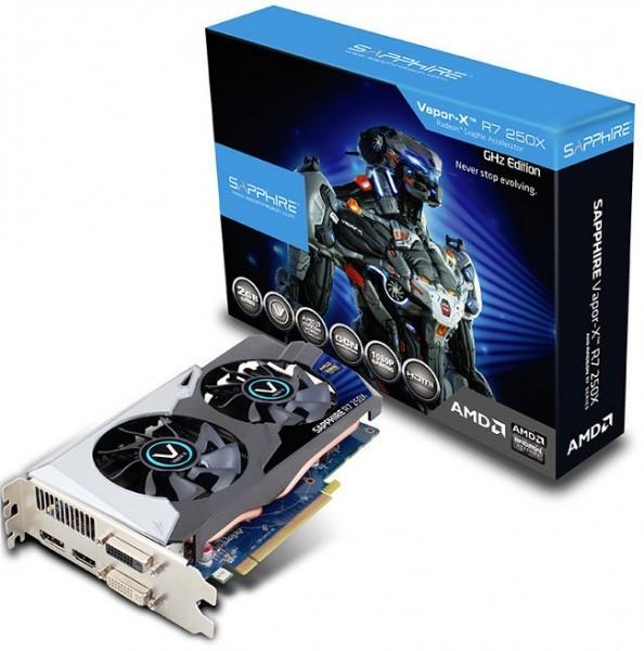 Рассеянный Radeon R7 250X GHz Edition от Sapphire