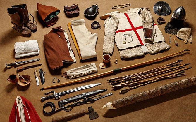 Общее военное снаряжение бойца от 1066 до 2014 года (ФОТО)