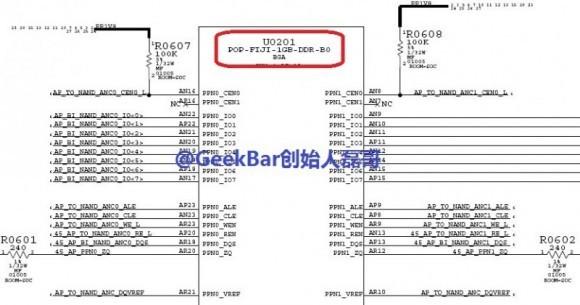 ФОТО: Айфон 6 обретет 1 Гигабайт NAND памяти