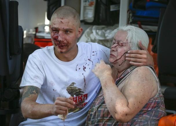 ФОТО из кровавого Донецка